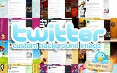 Personalizzare Twitter con uno sfondo originale